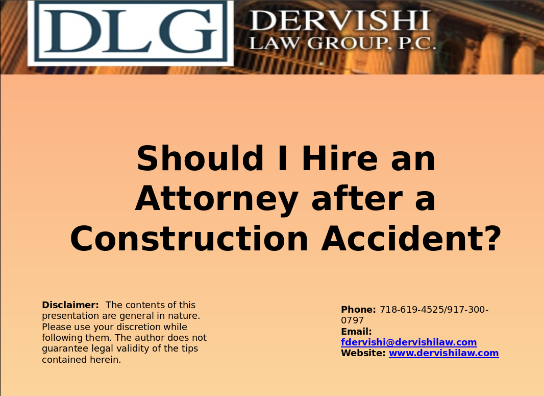 Should You Hire An Auto Accident Lawyer.